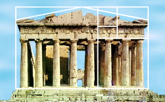 The Golden Ratio Can Be Seen In Many Ancient Architectural Designs Including Parthenon